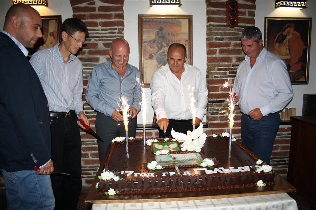 Областният управител инж. Георги Ранов присъства на празника на Гълъбово