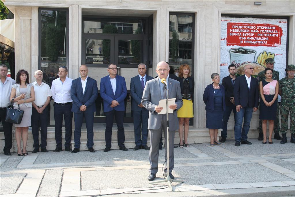 Областният управител инж. Георги Ранов и зам. областният управител Димитър Драчев присъстваха на празника на пожарникарите в Стара Загора