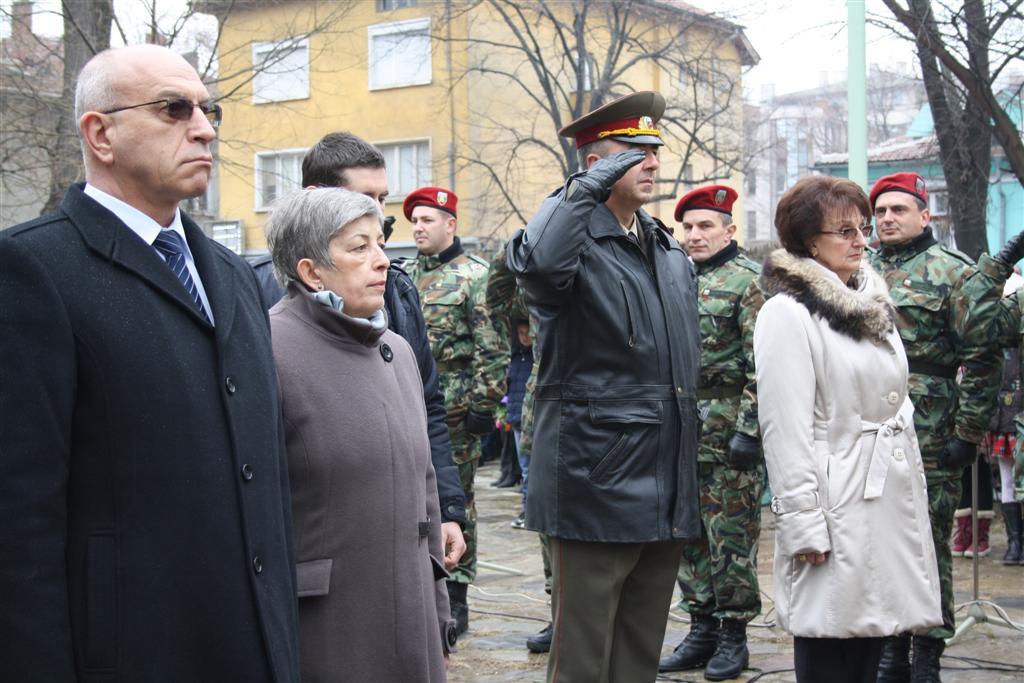 Областният управител проф. Шошева присъства на общоградския ритуал в памет на Васил Левски