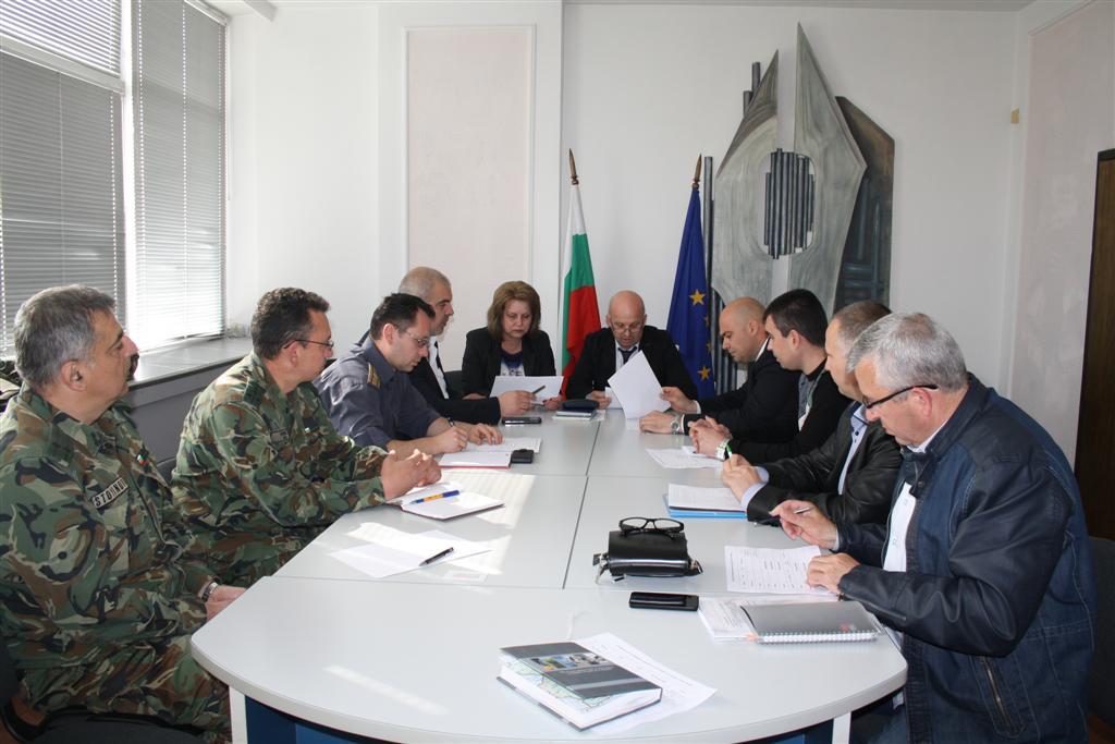 Областният управител инж. Георги Ранов свика Областния съвет по сигурност
