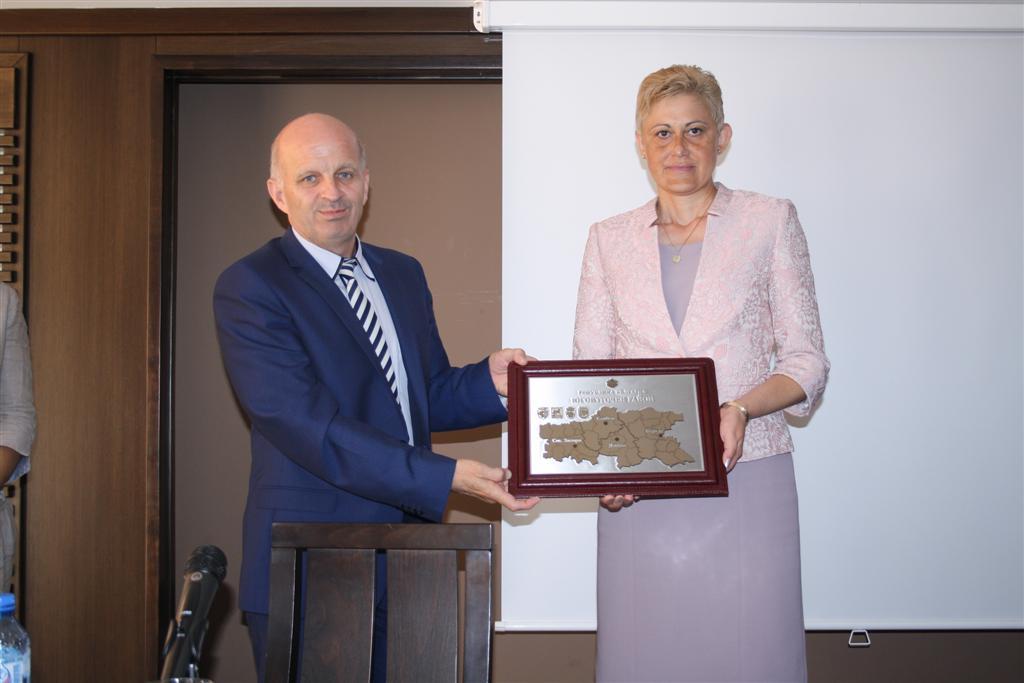Заседание на Регионалния съвет за развитие и Регионалния координационен комитет на ЮИР се проведе на Старозагорските бани