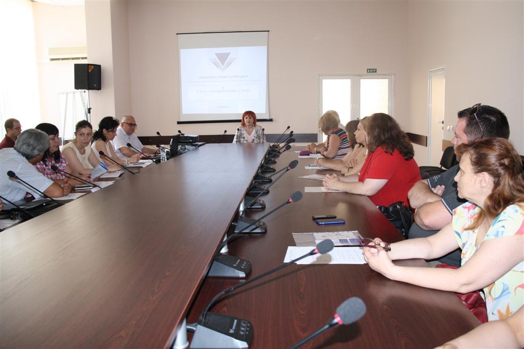 Директорът на офиса на НАП в Стара Загора представи в Областна администрация нови е-услуги на Агенцията