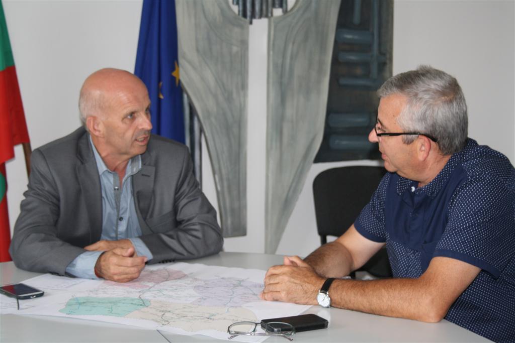Областният управител инж. Георги Ранов се срещна с директора на Областно пътно управление